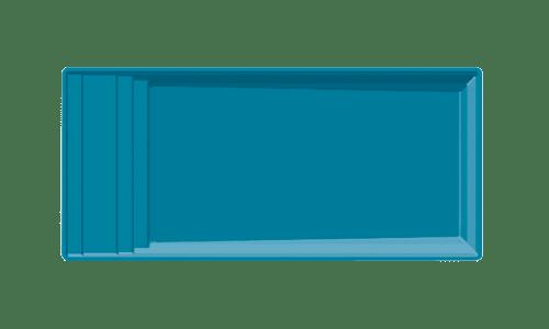 modele-piscine-coque-elegance Escalier romain & trapèze