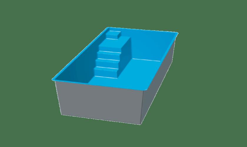 piscine-coque-auron-3d Modèle Auron