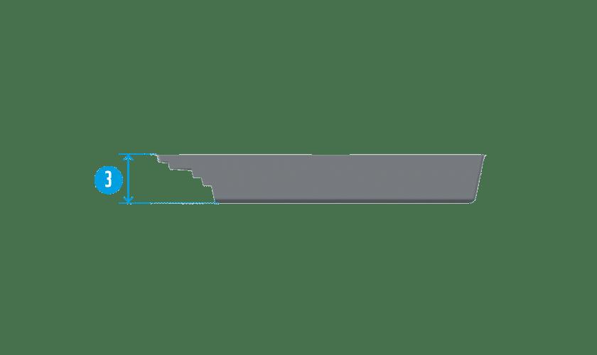 piscine-coque-bendor-coupe Modèle Bendor