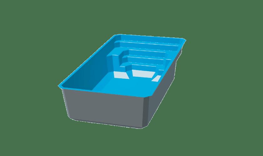 piscine-coque-devenson-3d Modèle Devenson