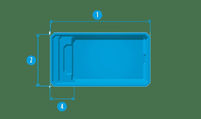 piscine-coque-devenson-plan Modèle Devenson
