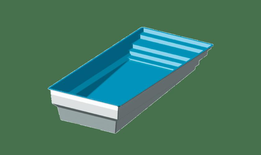 grande piscine coque  u00e0 fond progressif  mod u00e8le elegance