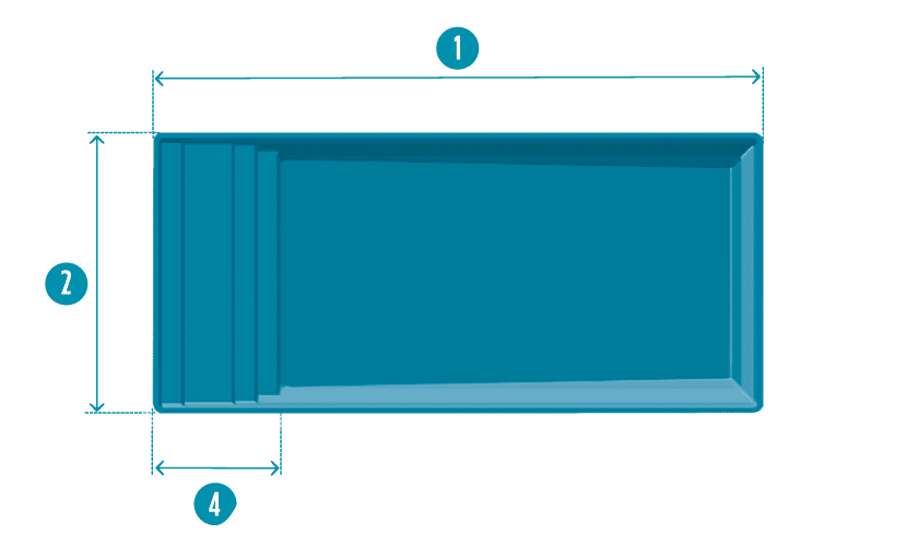 piscine-coque-elegance-plan Élégance S