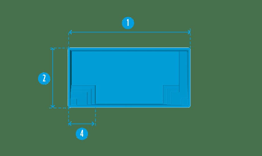 piscine-coque-en-vau-plan Modèle En Vau