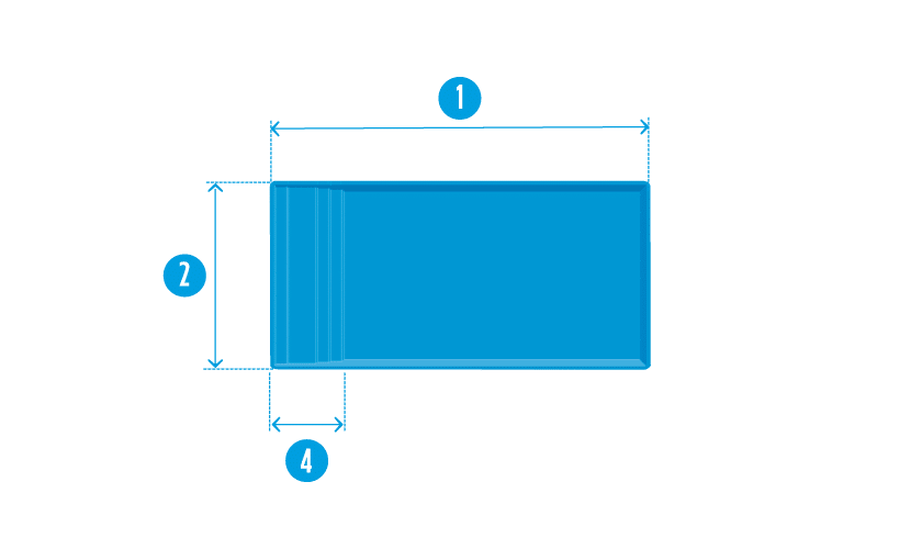 piscine-coque-extra-45-plan Modèle Extra 45
