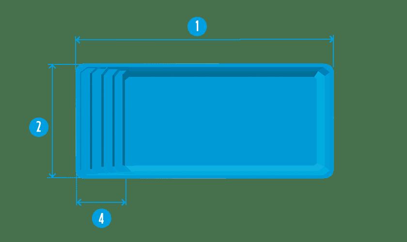 piscine-coque-extra-73-plan Modèle Extra 73