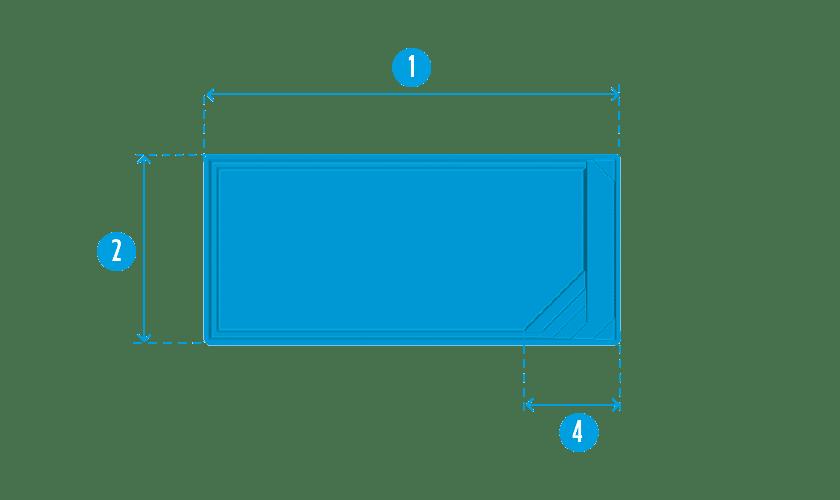 piscine-coque-extra-80-plan Modèle Extra 80
