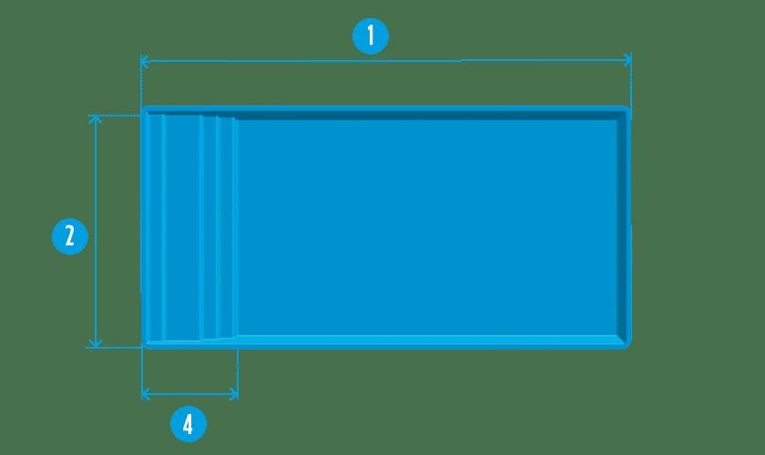 piscine-coque-extra-84-plan Modèle Extra 84