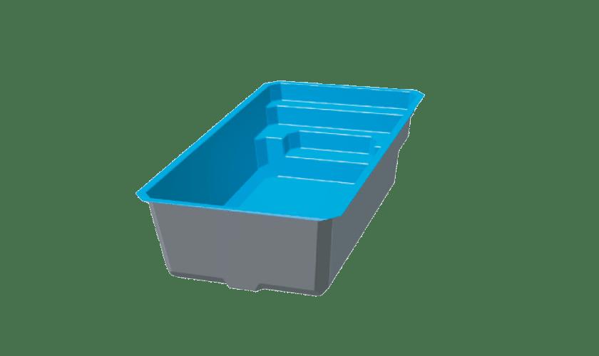 piscine-coque-giens-3d Modèle Giens