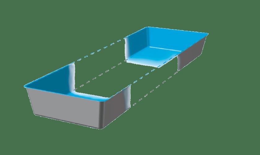 piscine-coque-infinity-3d Modèle Infinity