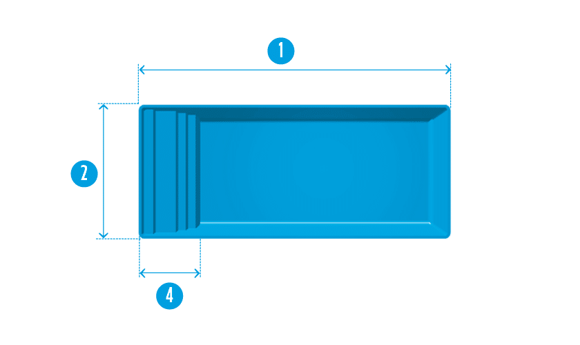 piscine-coque-inizan-plan Modèle Inizan