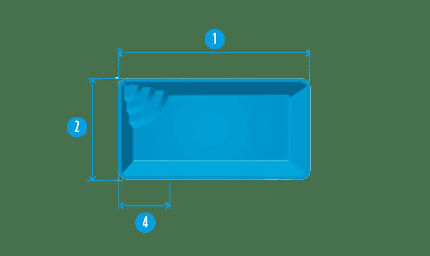 piscine-coque-mejean-plan Modèle Méjean