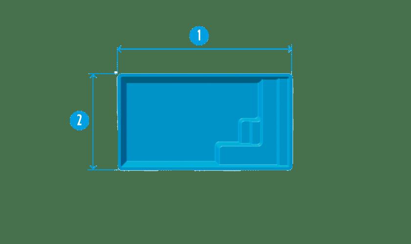 piscine-coque-mini-plan Modèle Mini