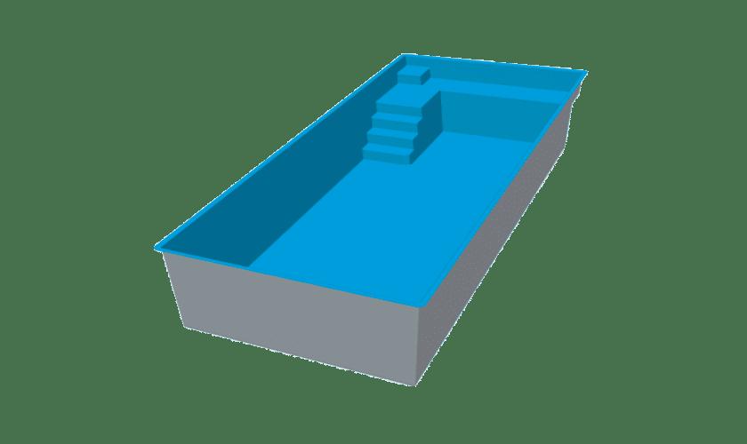 piscine-coque-mont-joly-3d Modèle Mont Joly