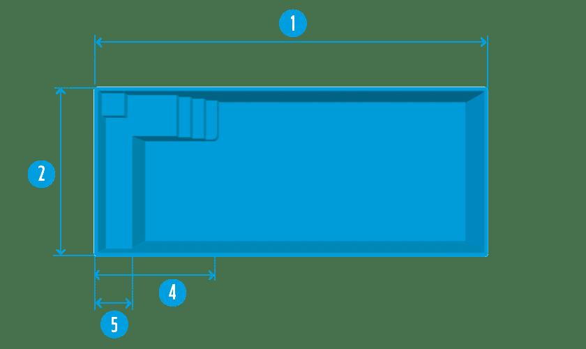 piscine-coque-mont-louis-plan Modèle Mont Louis