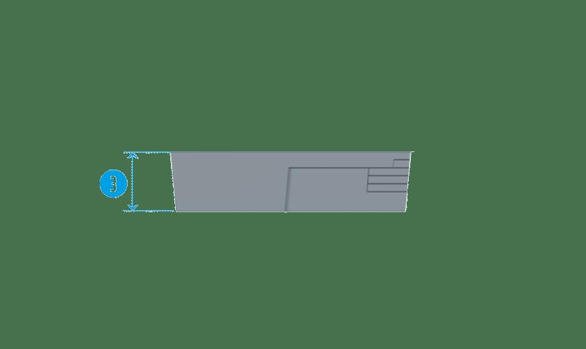 piscine-coque-plage-leucate-coupe Modèle Leucate Plage