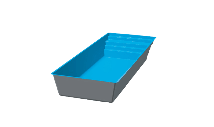 piscine-coque-podestat-3d Modèle Podestat