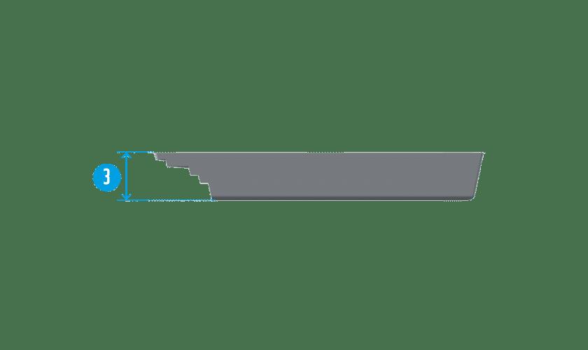 piscine-coque-podestat-coupe Modèle Podestat