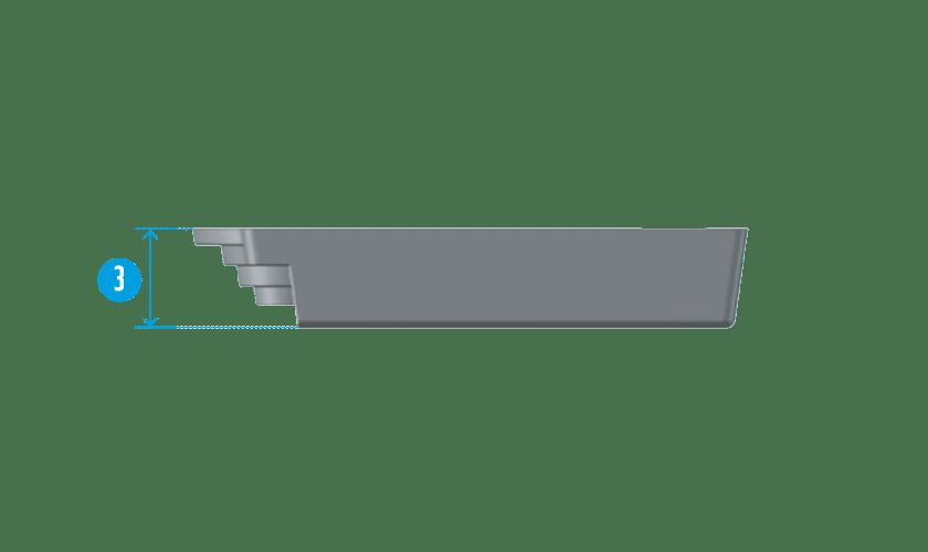 piscine-coque-porquerolle-coupe Modèle Porquerolles