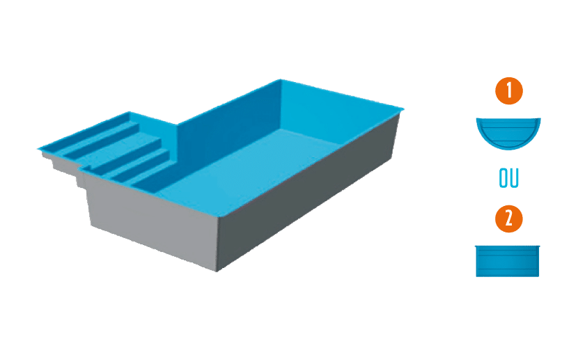 piscine en kit personnalisable mod u00e8le port